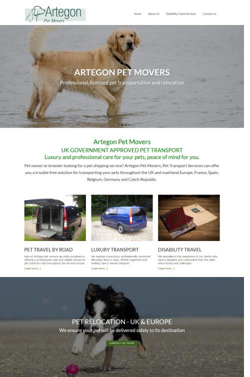artegon pet movers